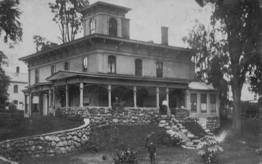 Dr. Hiram Corliss house
